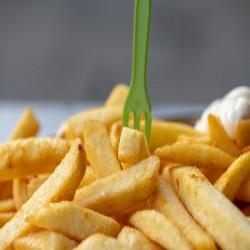 البطاطس نصف مقلية (2.5 Kg)